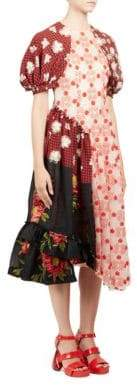 Simone Rocha Floral Patchwork Dress