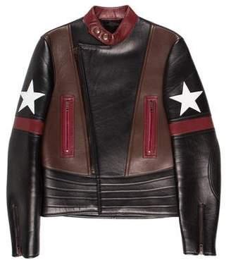 Givenchy 2016 Lambskin Moto Jacket