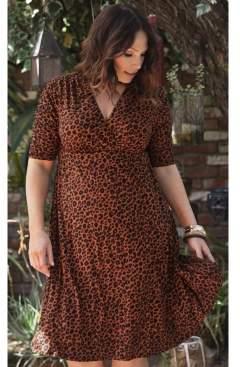 Kiyonna Women's Plus Size Gabriella Dress
