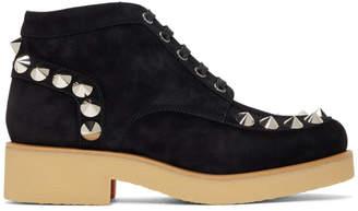 Christian Louboutin Black Yannick Flat Boots