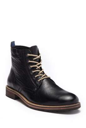 MODERN FICTION Satire Lace-Up Plain Toe Boot