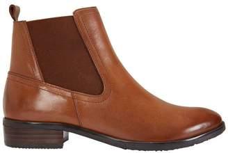 Leonard Cognac Glove Boot