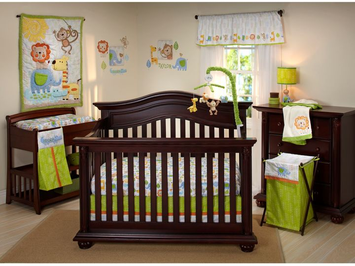 NoJo Congo Bongo Crib Bedding Collection