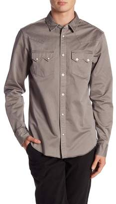 AllSaints Stovepipe Slim Fit Shirt