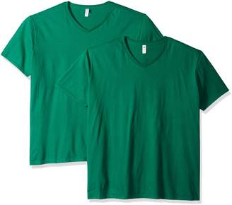 Fruit of the Loom Men's V-Neck T-Shirt (2 Pack)