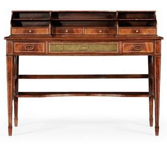 Jonathan Charles Fine Furniture Buckingham Solid Wood Secretary Desk Jonathan Charles Fine Furniture