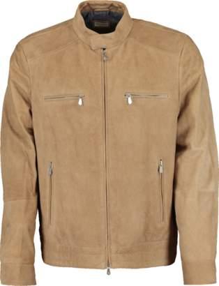Brunello Cucinelli Suede Zip Front Jacket