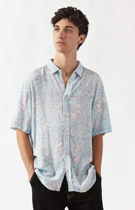 Insight Strange Days Short Sleeve Button Up Camp Shirt