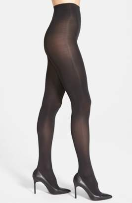 Donna Karan New York 'Evolution' Satin Jersey Tights