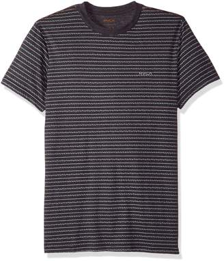 RVCA Young Men's Chev Stripe Vintage Dye Tee Shirt