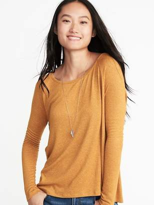 Old Navy Loose Luxe Soft-Spun Tee for Women
