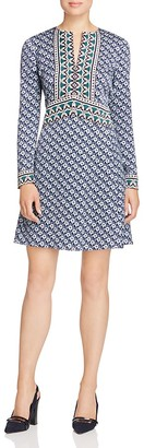 Tory Burch Milburn Mixed Floral Dress - 100% Exclusive $375 thestylecure.com