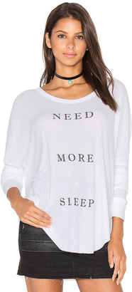 Wildfox Couture More Sleep Top $88 thestylecure.com