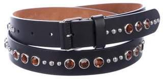 Givenchy Embellished Leather Belt