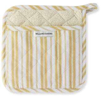 Williams-Sonoma Williams Sonoma Striped Potholder, Jojoba Yellow