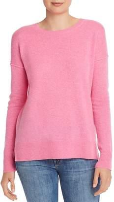 Aqua High/Low Crewneck Sweater - 100% Exclusive