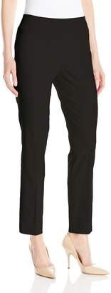 Tribal Women's Flatten It Pull-On Slim Leg Ankle Pant