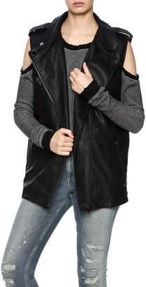 Dance & Marvel Vegan Leather Vest $59.99 thestylecure.com