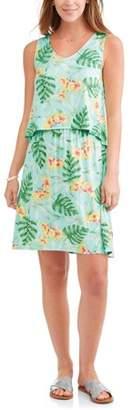 Caribbean Joe Women's Tank Dress