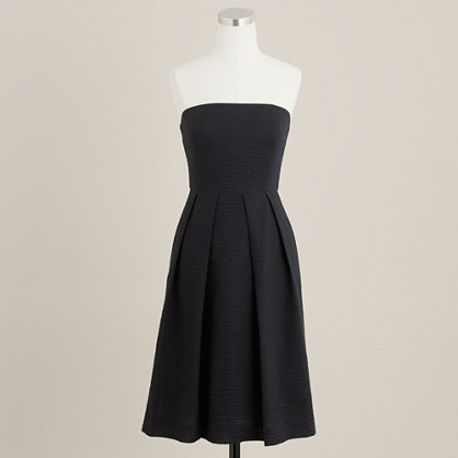 Strapless embossed Lorelei dress