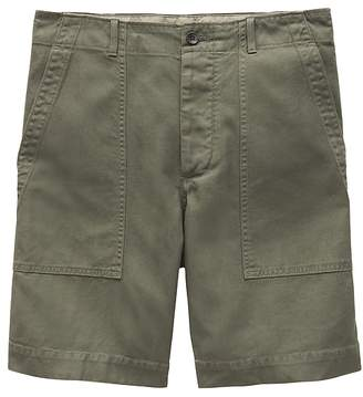 "Banana Republic Heritage Tapered Linen Blend 9.5"" Utility Short"