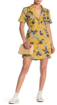 Emory Park Tropical Button Down Dress
