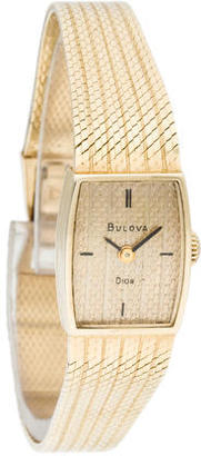 Bulova Christain Dior Watch $695 thestylecure.com