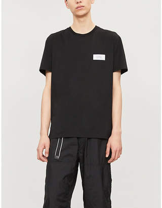 Givenchy Atelier-patch cotton-jersey T-shirt