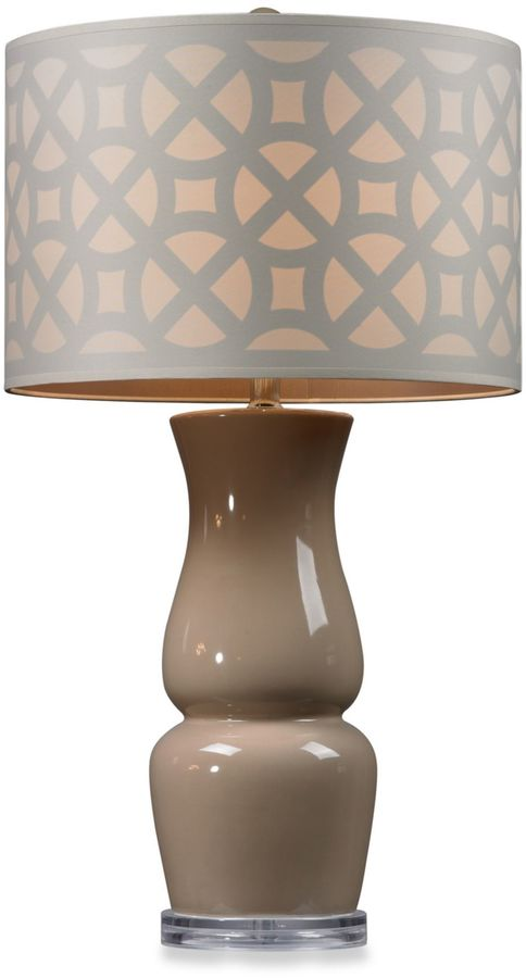 Bed Bath & Beyond Ballygowan Taupe Table Lamp