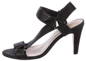 Loeffler Randall Leather Mid-Heel Sandals