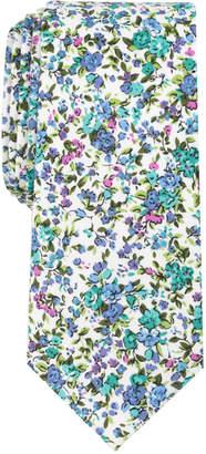 Bar III Men's Panjin Floral Skinny Tie, Created for Macy's