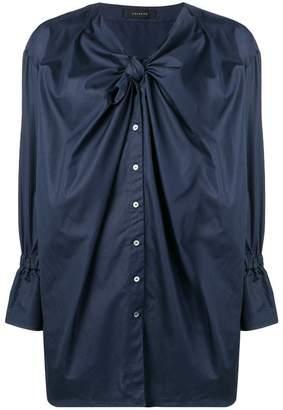 Frenken oversized bow blouse