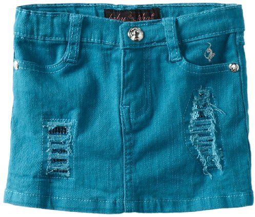 Baby Phat Kids Girls 2-6X Denim Skirt