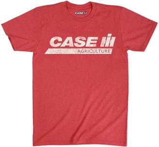 AG Jeans Country Casuals Case Ih Distressed Adult Stripe - Adult Short Sleeve Tee