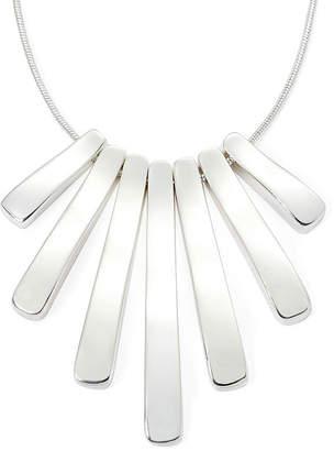 Liz Claiborne Silver-Tone Mini-Shower Necklace