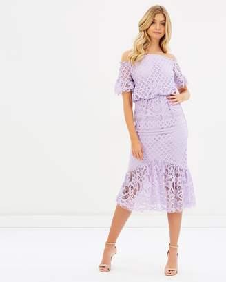Billie Lace Off Shoulder Dress