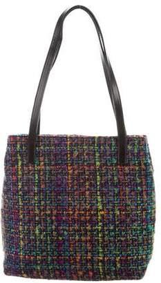 Helen Kaminski Leather-Trimmed Tweed Bag