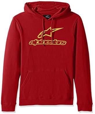 Alpinestars Men's Pullover Hooded Sweatshirt Classic Fit 280 GSM Logo Fleece