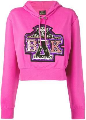 Balmain x Beyonce sequin-embellished hoodie
