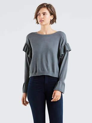 Levi's Ruffled Sweater