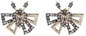 Alexis Bittar Pavé Butterfly Stud Earrings