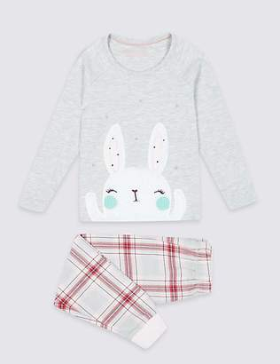 Marks and Spencer Cotton Rich Pyjamas (1-7 Years)
