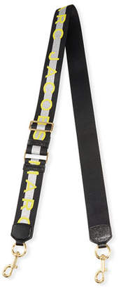 Marc Jacobs Logo Webbing Crossbody/Shoulder Strap
