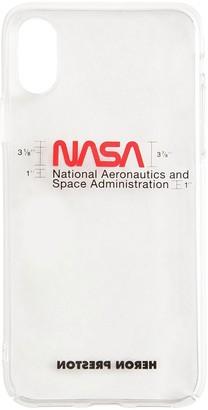 Heron Preston NASA IPHONE XS テクノ携帯電話ケース