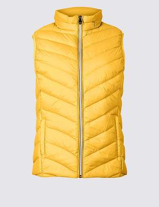 """Marks and Spencer Lightweight Down & Feather Gilet with Stormwearâ""""¢"""