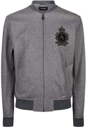 Dolce & Gabbana Wool-Cashmere Zip-Up Jacket
