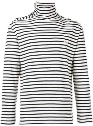 Loewe striped turtleneck sweater