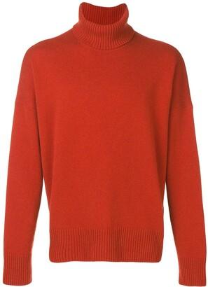 Ami Paris Turtleneck Oversize Sweater
