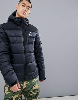 Wear Colour Wear Color Zeal Puffer Jacket in Black