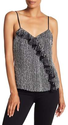 Parker Justine Ruffle Beaded Top